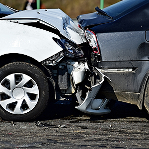 A scene from someone in need of an auto accident attorney in Pasadena, MD