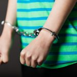Kids in handcuffs